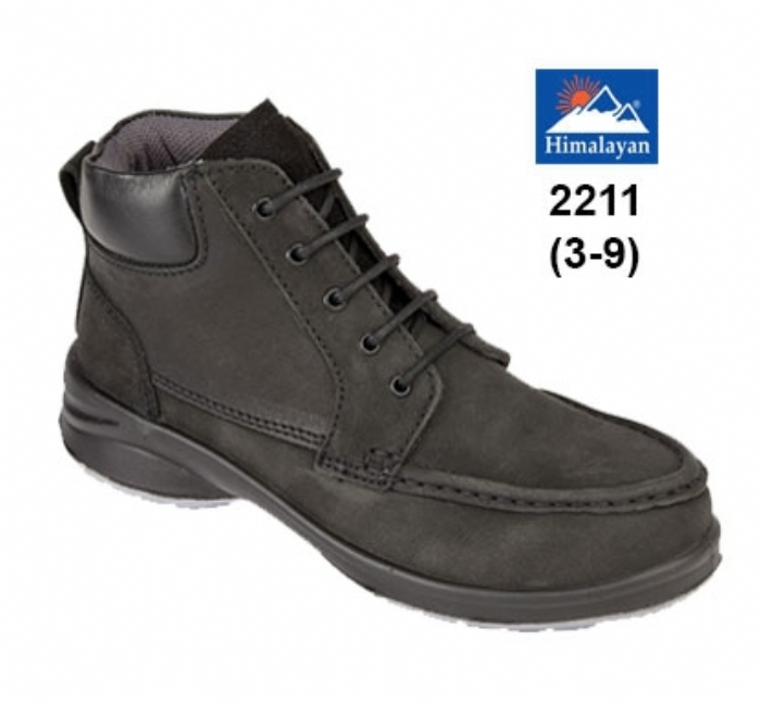 HIMALAYAN Ladies Black Star Trainer Boot
