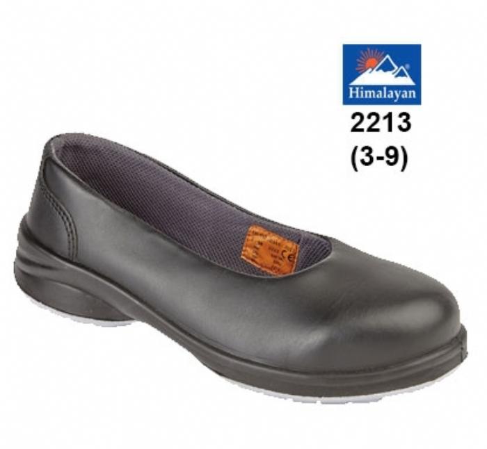 HIMALAYAN Ladies Black Star Court Shoe