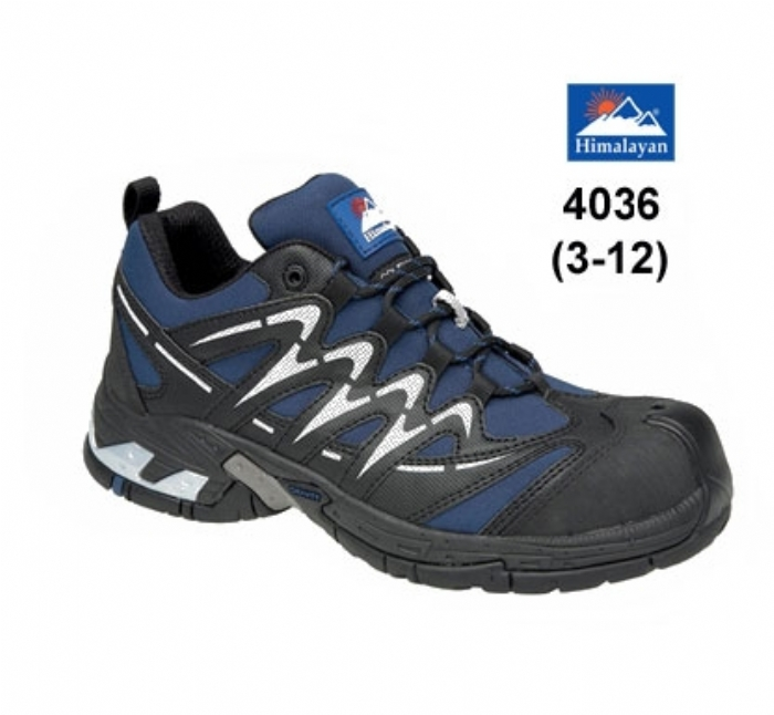 HIMALAYAN  Navy Gravity Sport Trainer with Metal Free Cap and Midsole