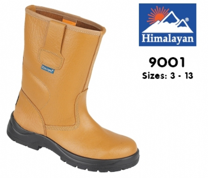HIMALAYAN  Tan HyGrip Unlined Safety Rigger, PU Outsole
