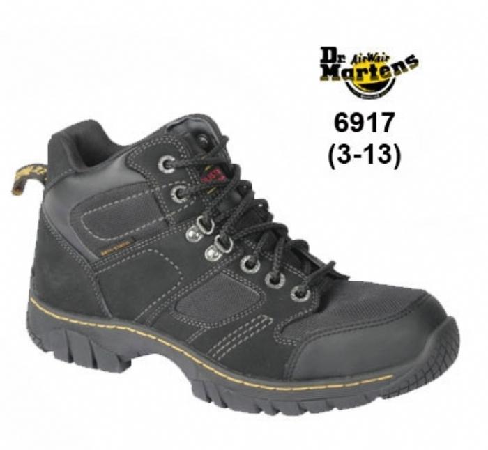 DR MARTENS Black Dr Martens Benham ST Safety Boot -Vegan Friendly
