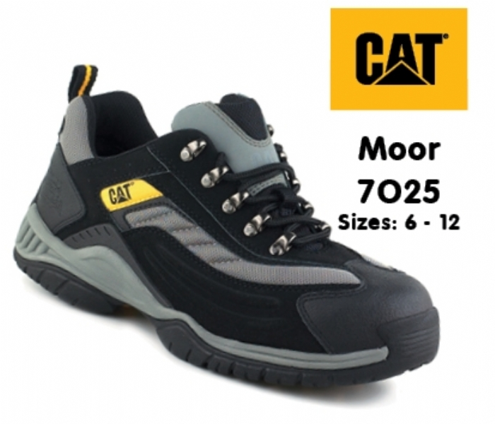 CATERPILLAR Moor Black/Silver Safety Trainer