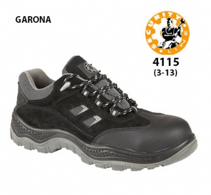 SECURITYLINE Black Non - Metallic Safety Shoe