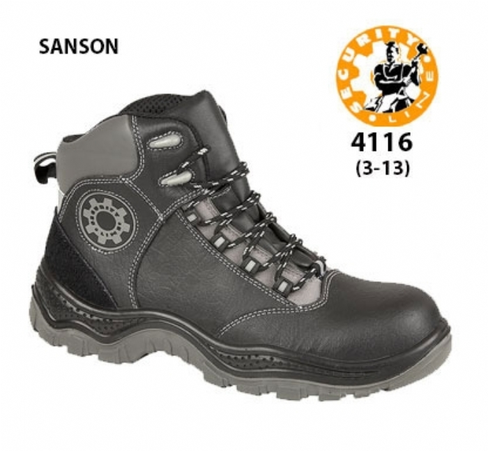 SECURITYLINE Black Non - Metallic Safety Boot