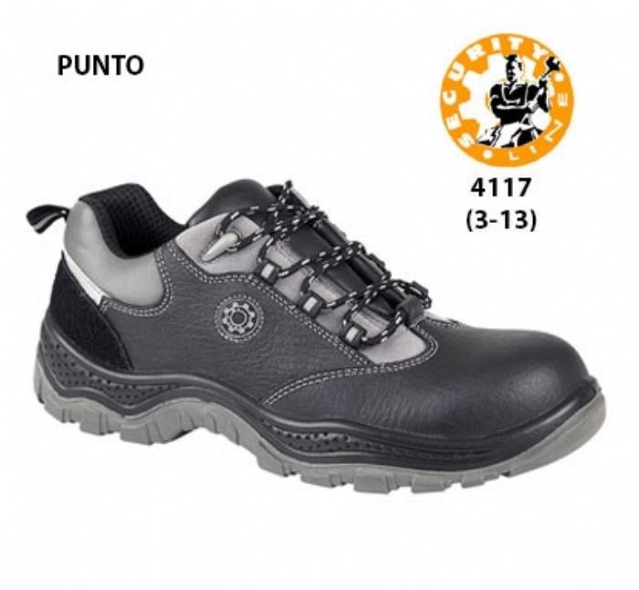 SECURITYLINE Black Non - Metallic Safety Shoe