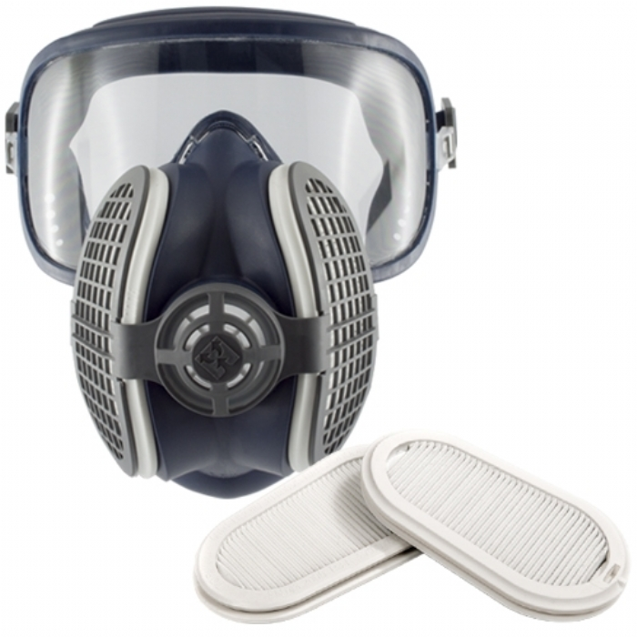 GVS Pro Elipse Integra Half Mask Respirator with Ready Fittted P3 Filters