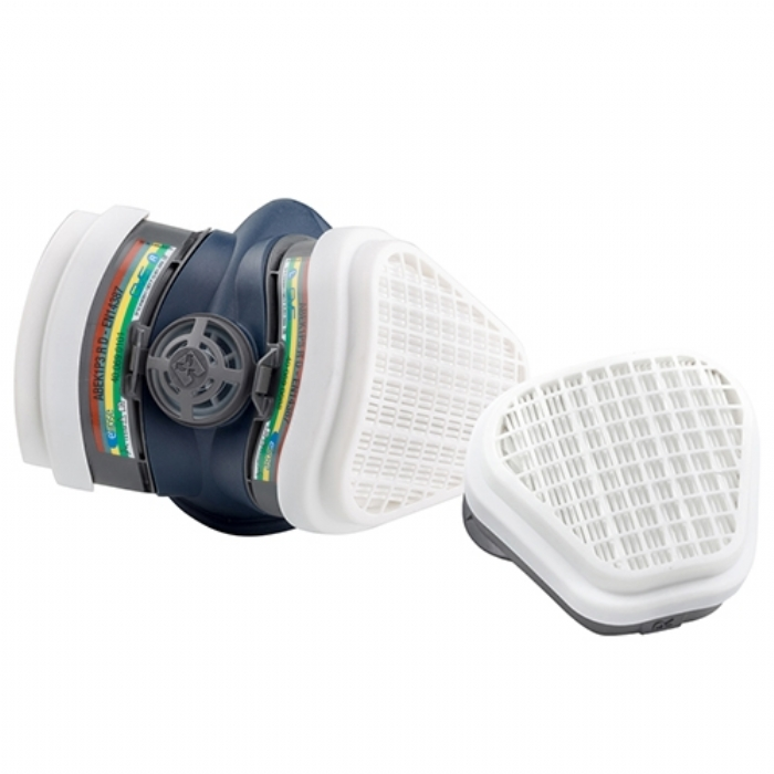 GVS Pro Elipse Half Mask Respirator with Ready Fitted ABEK1P3 Filters