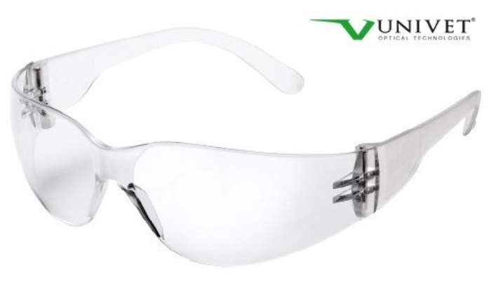 568 stylish lightweight safety spec with clear anti-scratch lens