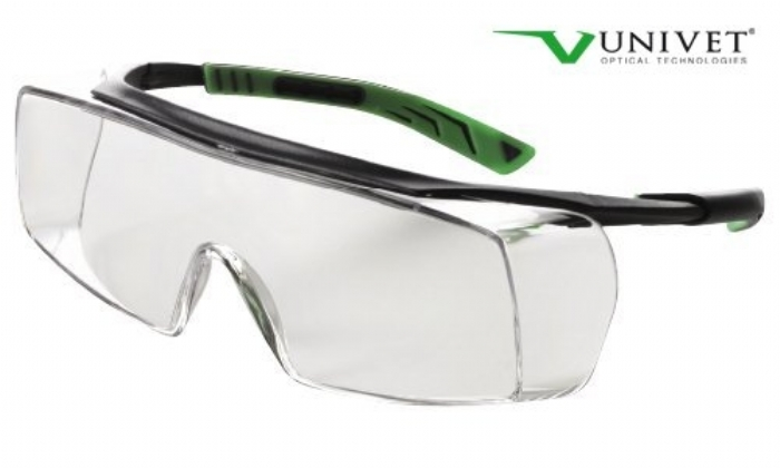 5X7 ultimate overspec with anti-scratch anti-mist lens gun metal/green frame