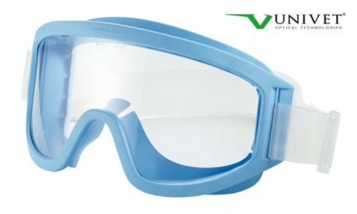 611 Clean Room direct vented goggles clear lens