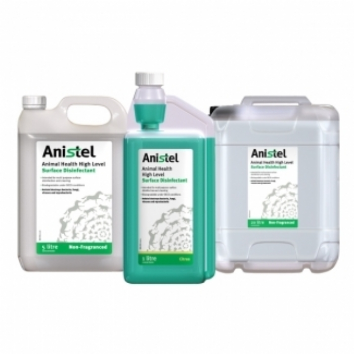 Anistel High Level Animal Health Surface Disinfectant - Citrus