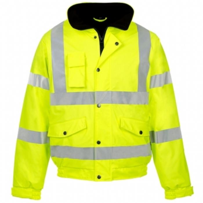 Hi Vis Storm-Flex® PU Bomber Jacket