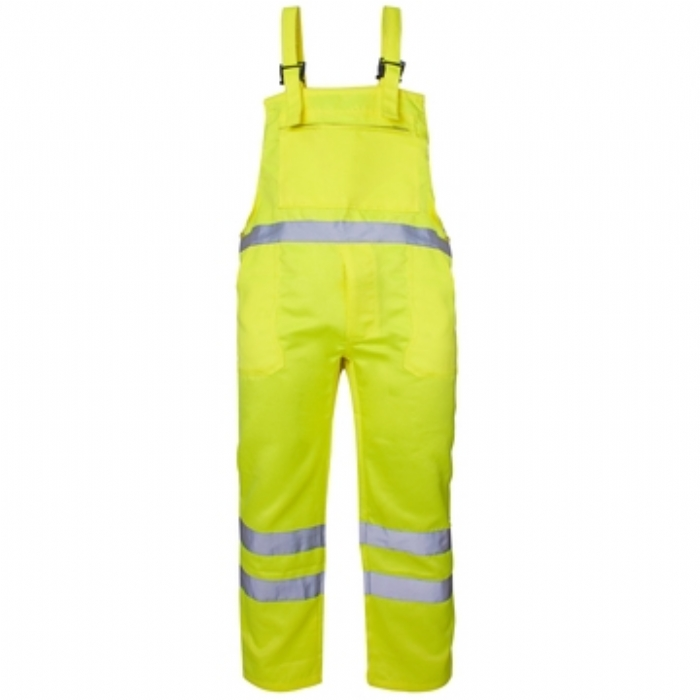 Hi Vis Polycotton Bib Trousers