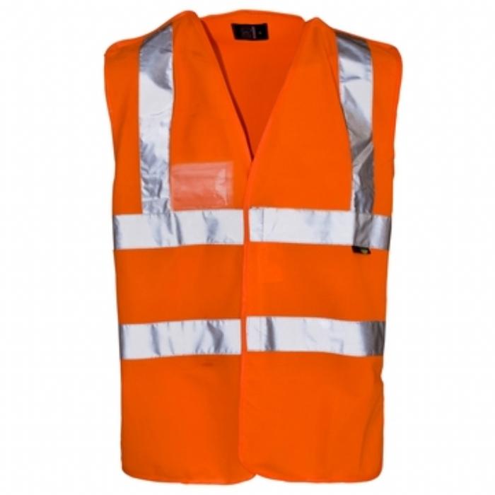Hi Vis Pull Apart Vest - ID Pocket