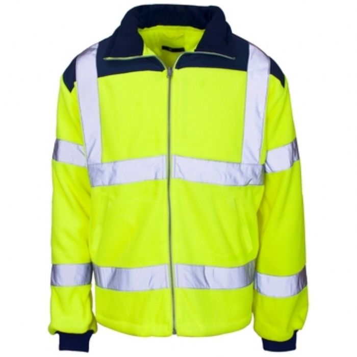 Hi Vis Fleece Jacket – Rain Patch