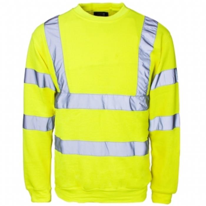 Hi Vis Crew Neck Sweatshirt