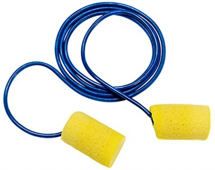 3M EAR Classic Corded Foam Ear Plugs