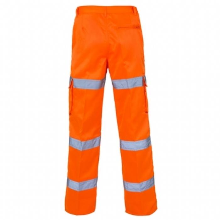 Hi Vis 3 Band Combat Trousers