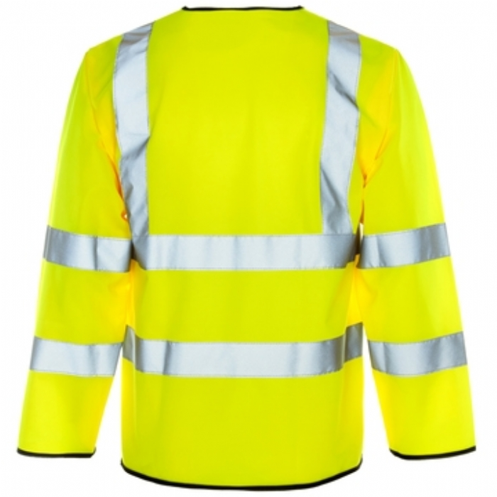 Hi Vis Long Sleeved Vest - ZIP