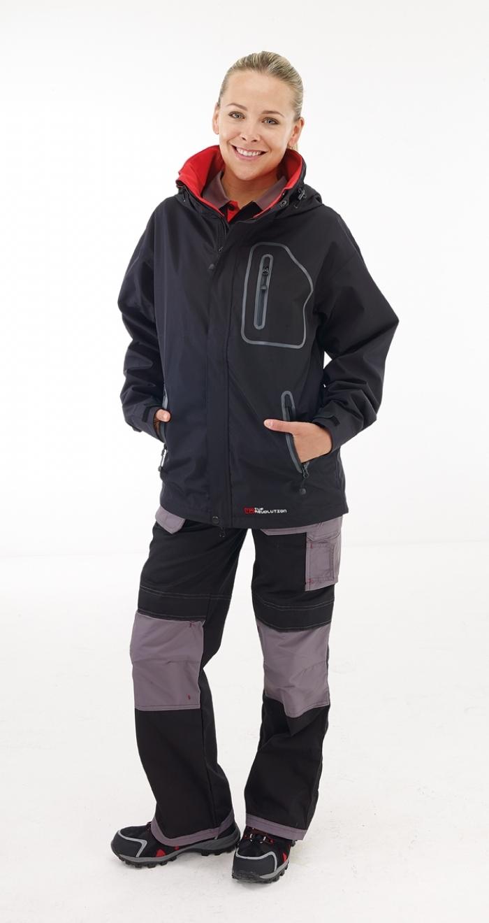 Tuf Revolution Performance Waterproof Jacket Black