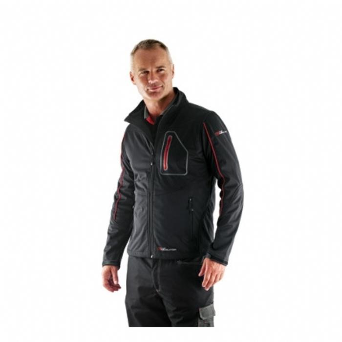 Tuf Revolution Performance Soft Shell Jacket Black