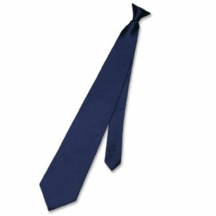 Clip-on Ties Navy Blue