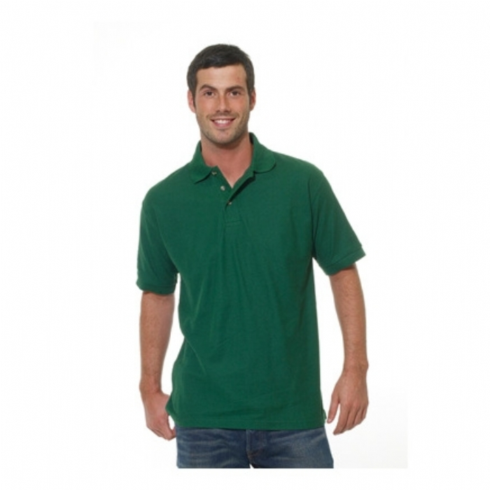 Endurance Polycotton Standard Polo Shirt Bottle Green