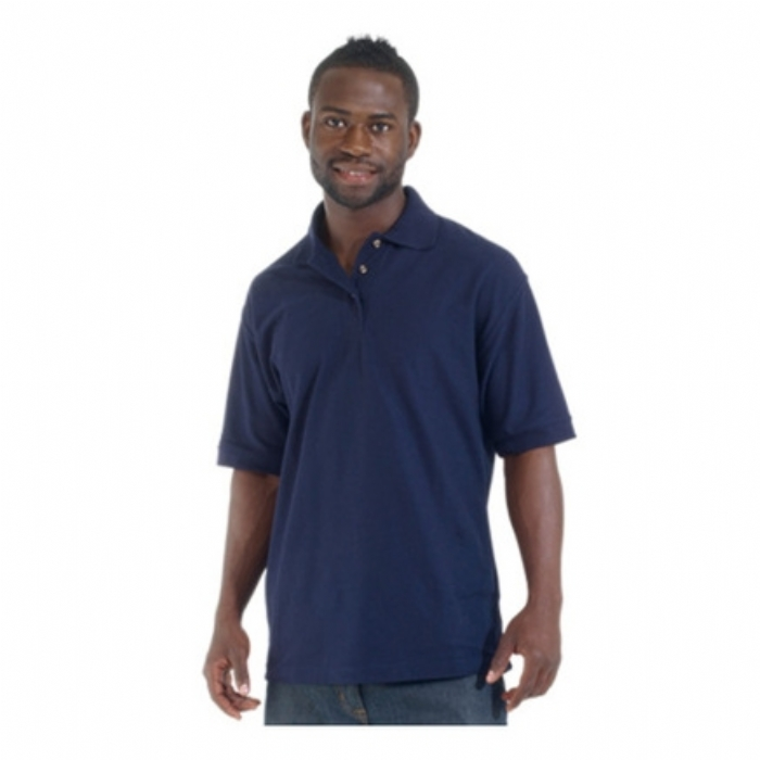 Endurance Polycotton Standard Polo Shirt Navy