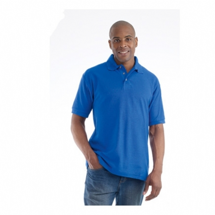Endurance Polycotton Standard Polo Shirt Royal Blue