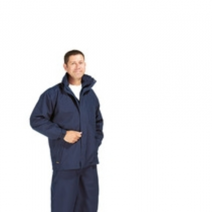 Lightweight Breathable Waterproof Gore-Tex Jacket Navy