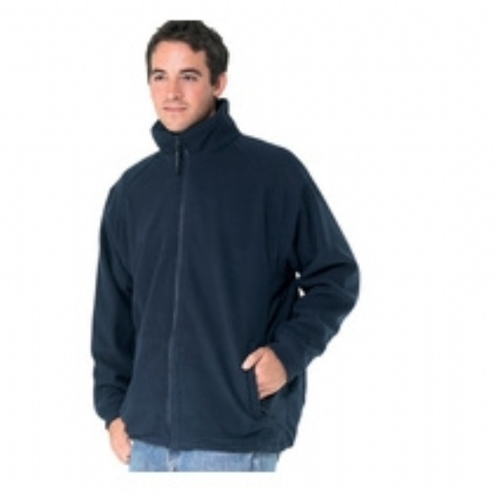 Regatta Omicron II Breathable Mens Fleece Jacket Dark Navy