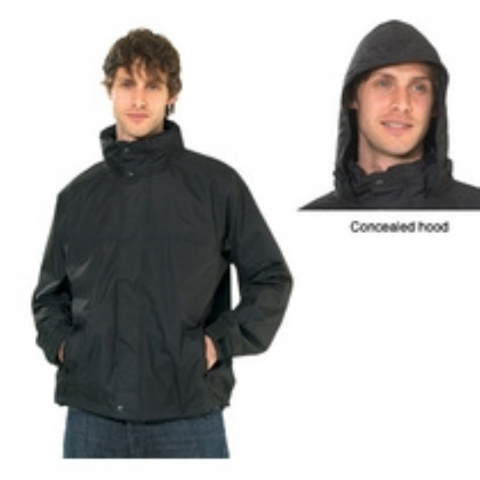Regatta Pace II Lightweight Waterproof Shell Mens Jacket Black
