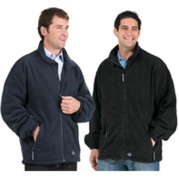 Endurance Unisex Lined Fleece Jacket Navy Blue
