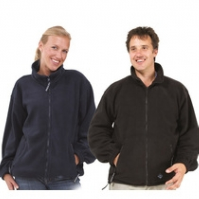 Unisex Heavyweight Fleece Jacket Navy
