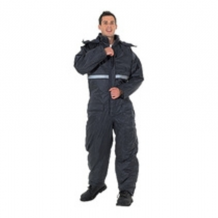 Endurance Mendip Padded Coverall Navy Blue