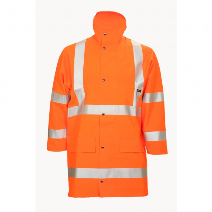 GO/RT EN 471 High Visibility Breathable Waterproof Gore-Tex Safety Jacket