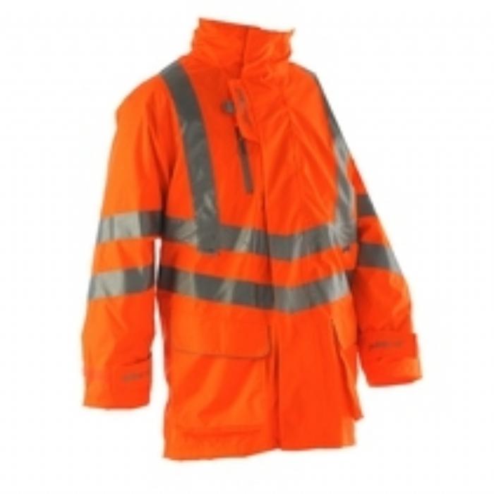 Pulsarail EN 471 High Visbility GO/RT Breathable Storm Coat