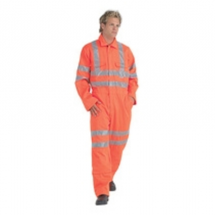 Keep Safe EN 471 High Visibility GO/RT 3279 Safety Polycotton Coverall