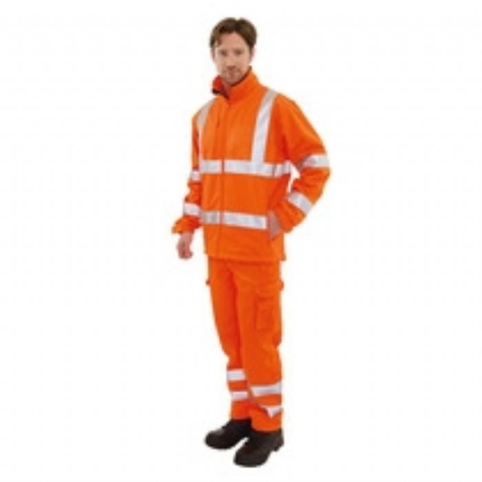 Keep Safe EN471 Hi/Vis GO/RT Softshell Jacket