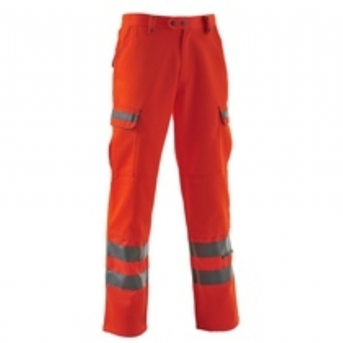 Pulsarail EN 471 High Visbility GO/RT Polycotton Combat Trousers