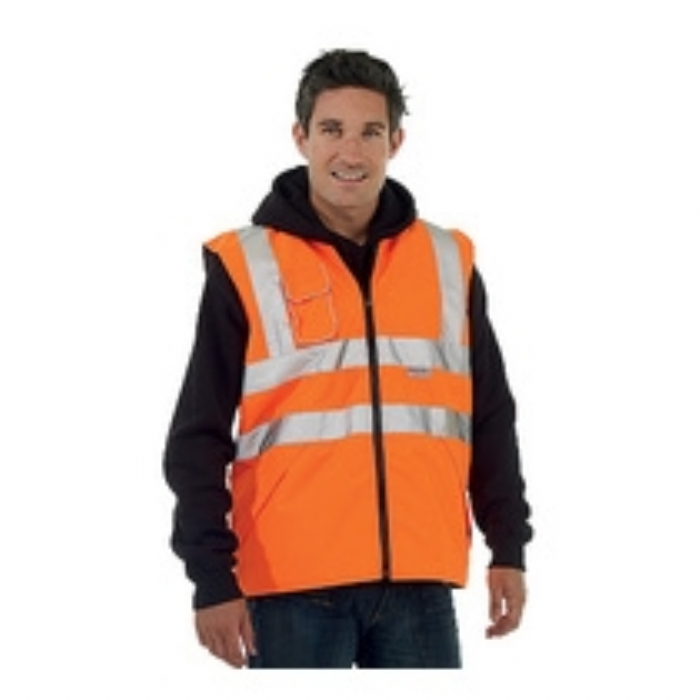 Keep Safe EN 471 High Visibility GO/RT Safety Bodywarmer
