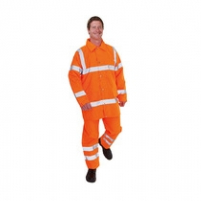 Keep Safe EN 471 High Visibility GO/RT Safety Trousers