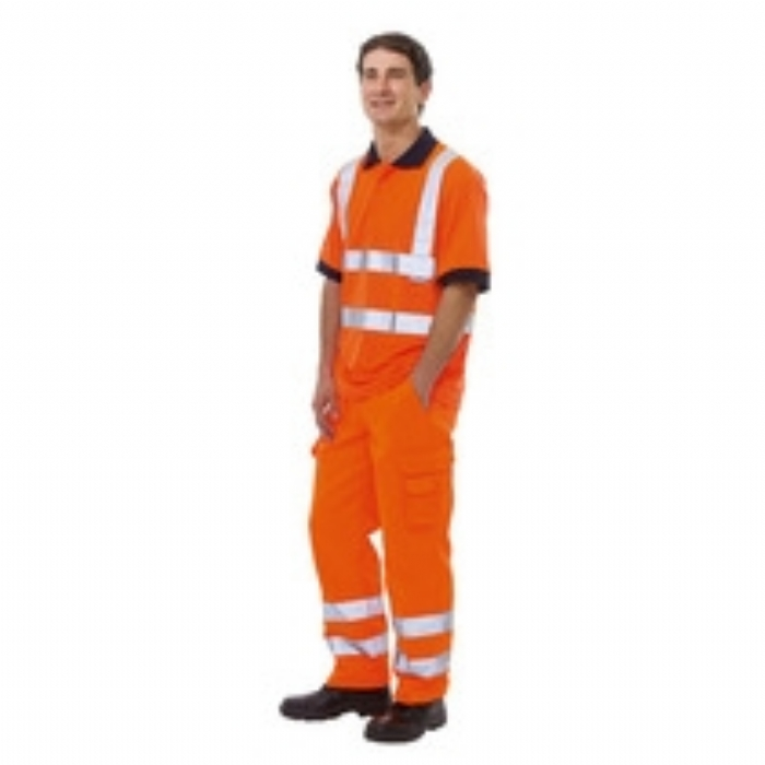 Keep Safe EN 471 High Visibility GO/RT Safety Cargo Trouser