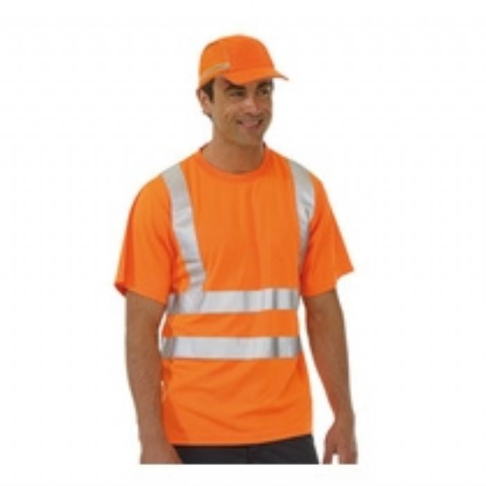 Keep Safe EN 471 High Visibility T-Shirt