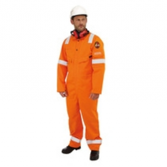 Roots Flamebuster Nordic Coverall, Tall - ORANGE