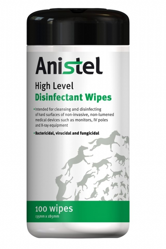 ANISTEL High Level Surface Disinfectant Wipes