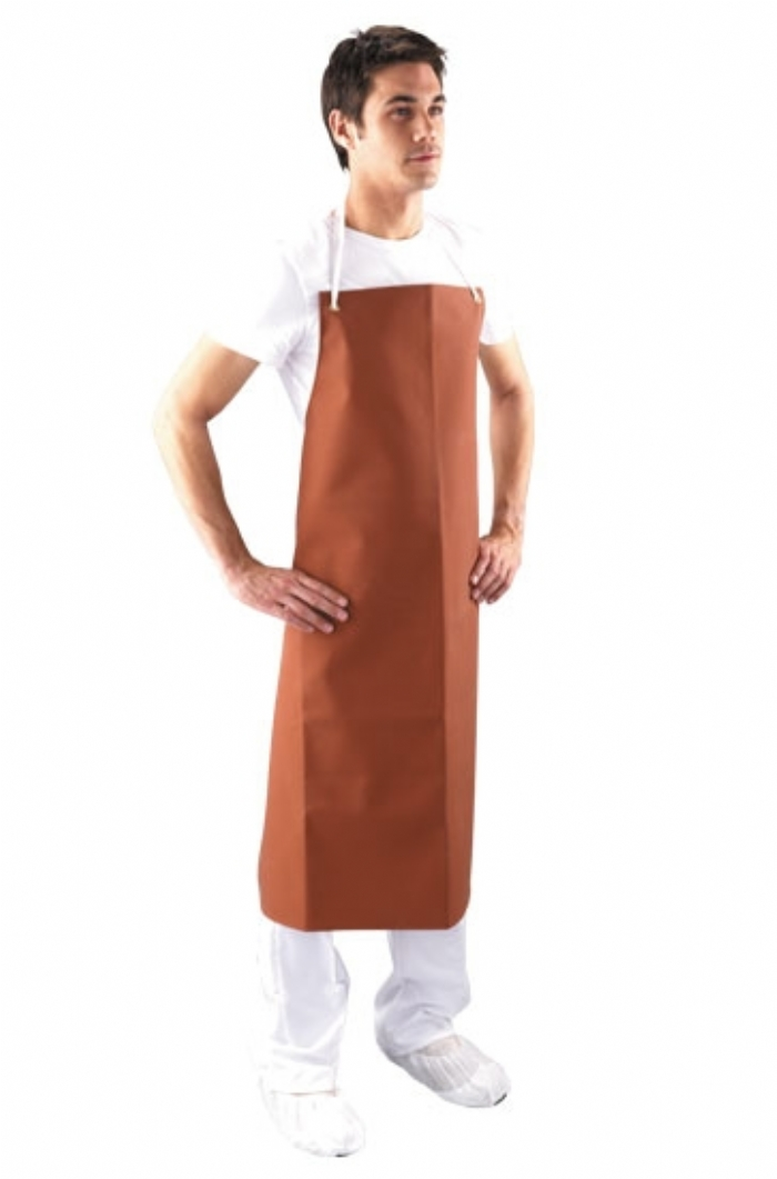 AP14C - Red Rubber Apron