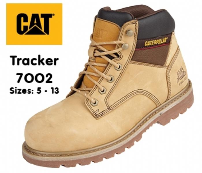 Caterpillar Honey Goodyear Welted SB Tracker Safety Boot