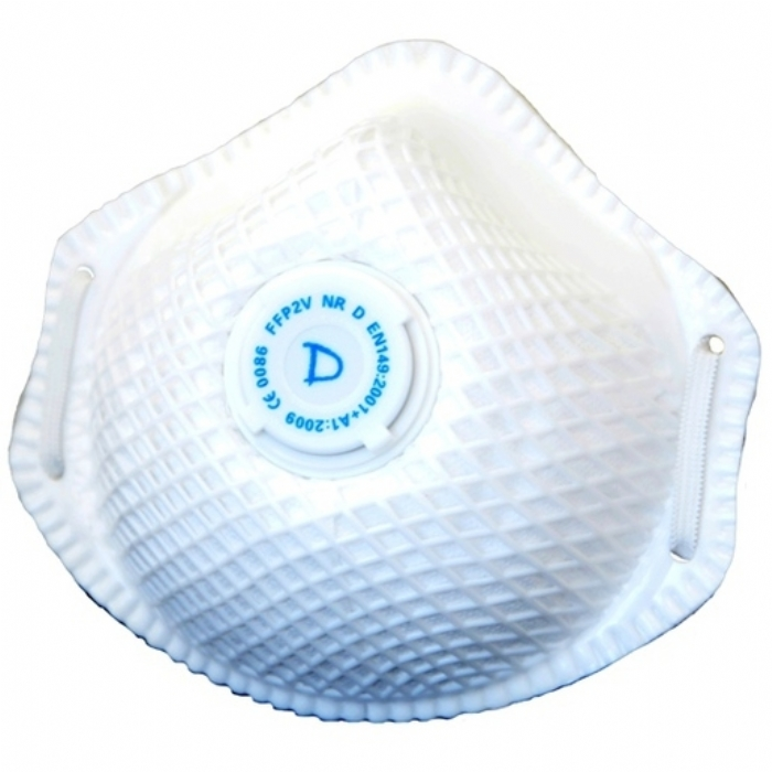 RESPAIR P2V 'D' DISPOSABLE RESPIRATOR