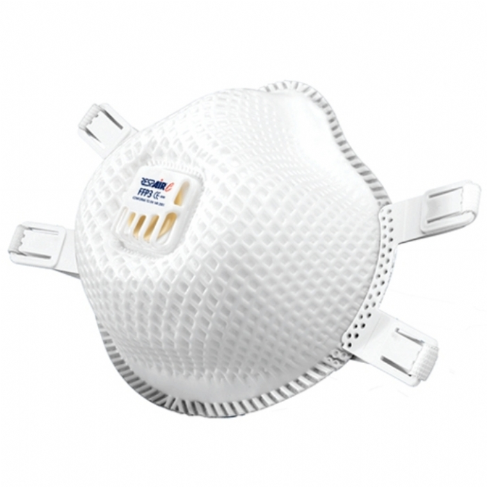RESPAIR P3V CUPPED DISPOSABLE RESPIRATOR